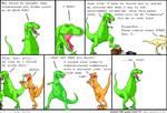 Dinosaur Comic #1 (guest comic) by dziadek1990