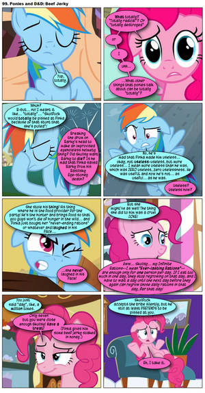 99. Ponies and DnD: Beef Jerky