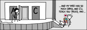 Shanty Hall (relevant xkcd)