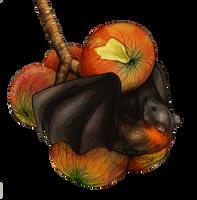 Fruit Bat by LittleVulpine
