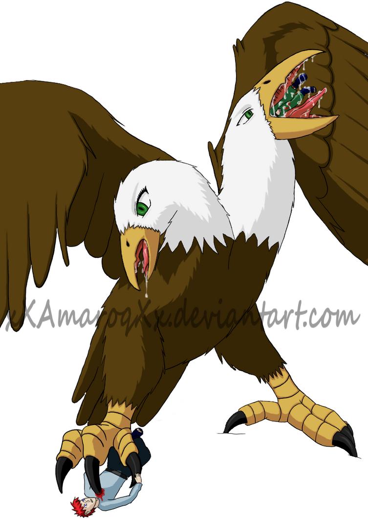 Giant double headed eagle by xxamaroqxx