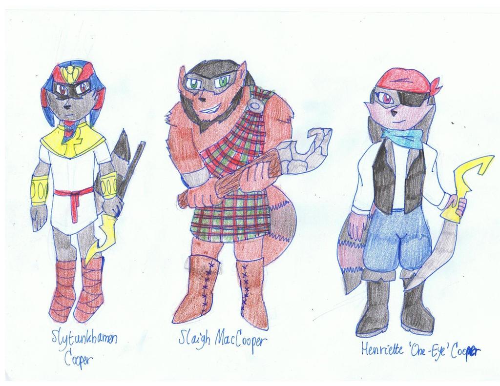 Sly 5 Ancestors I by KivaHoloTitan
