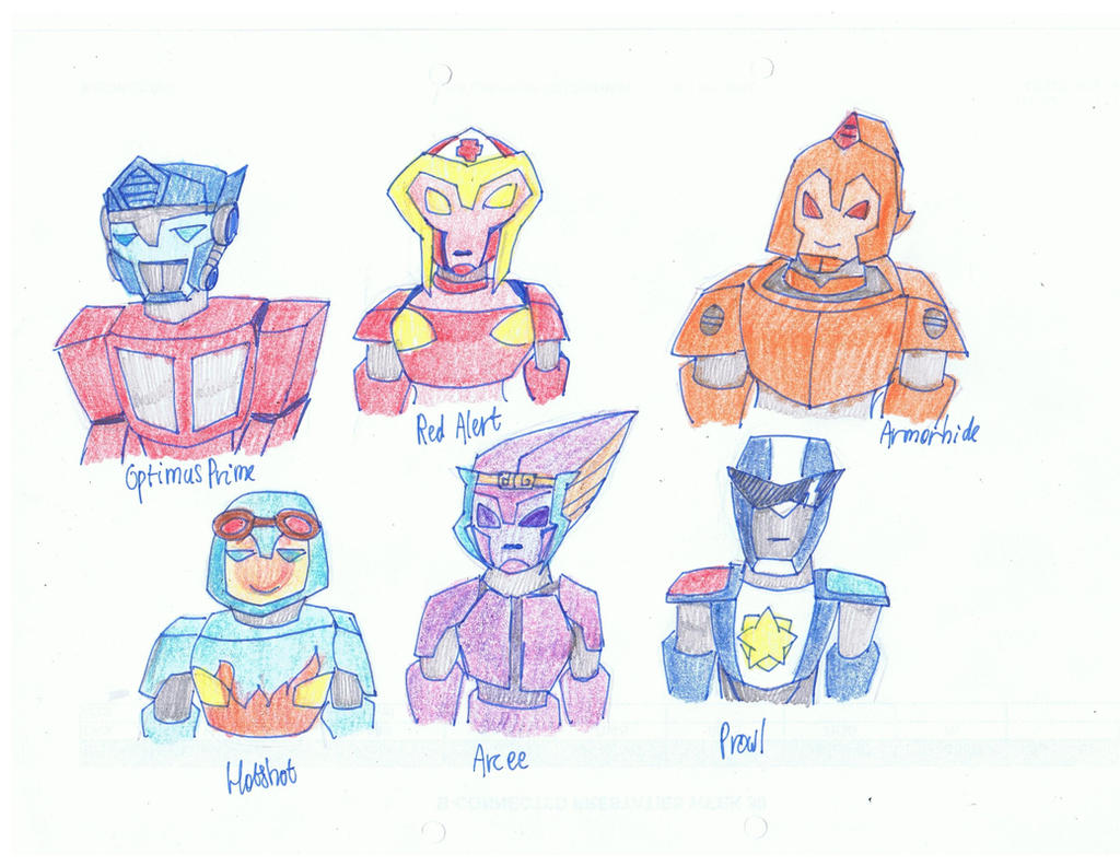 Transformers by KivaTheDCWizard on DeviantArt