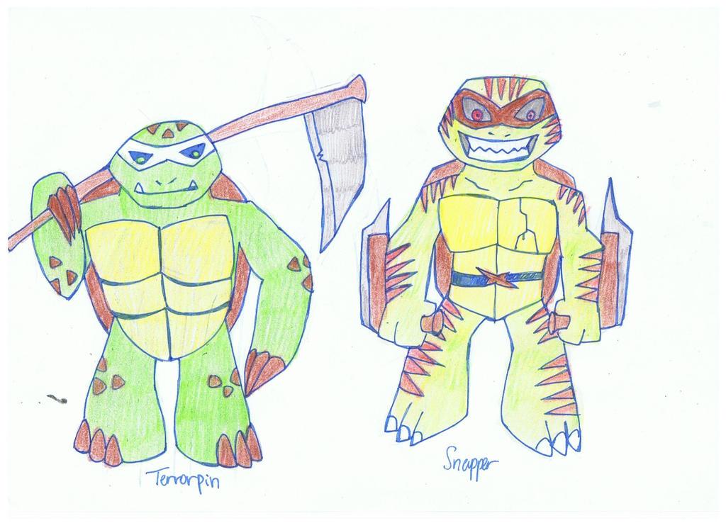 TMNT Heroes in a half shell: Dark Turtles part 2 by KivaEnergyArms