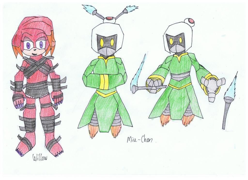 sonic Kaboom designs by KivaEnergyArms