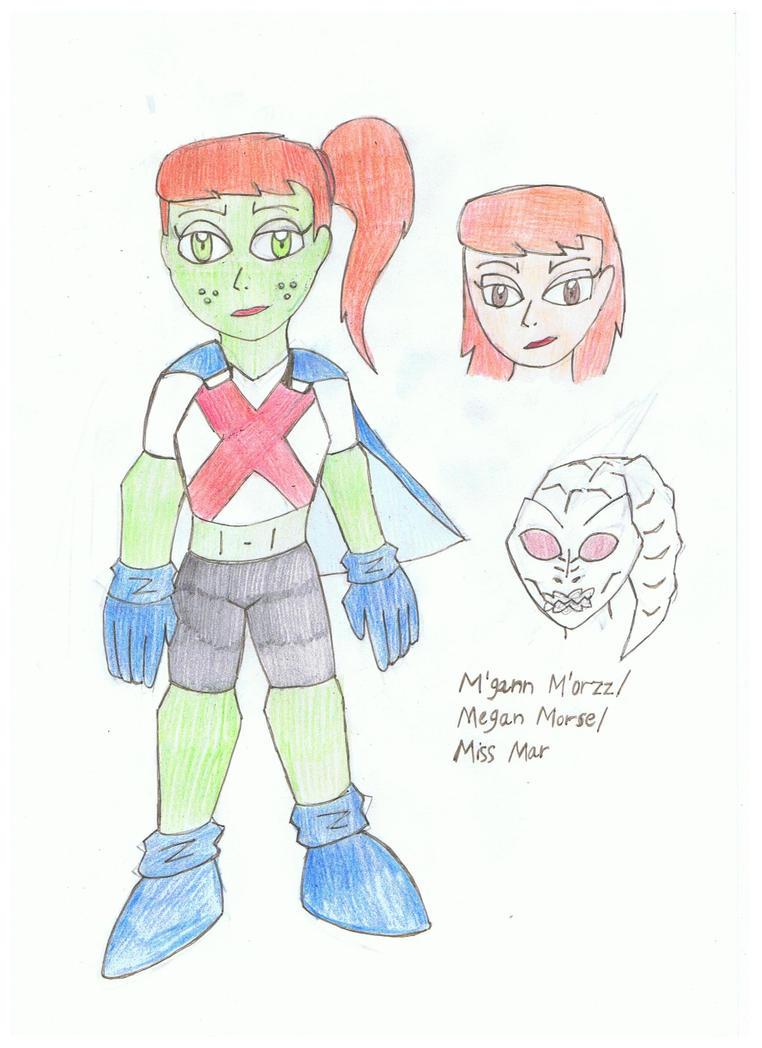 Miss Martian by KivaHoloTitan