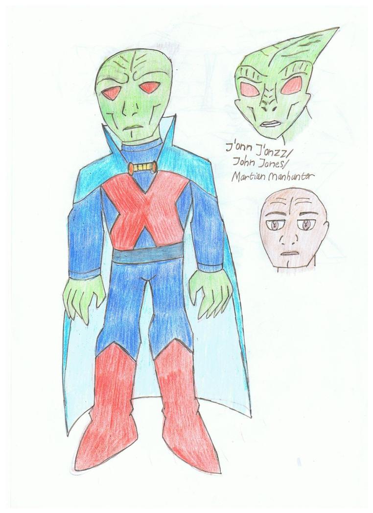 Martian Manhunter by KivaHoloTitan
