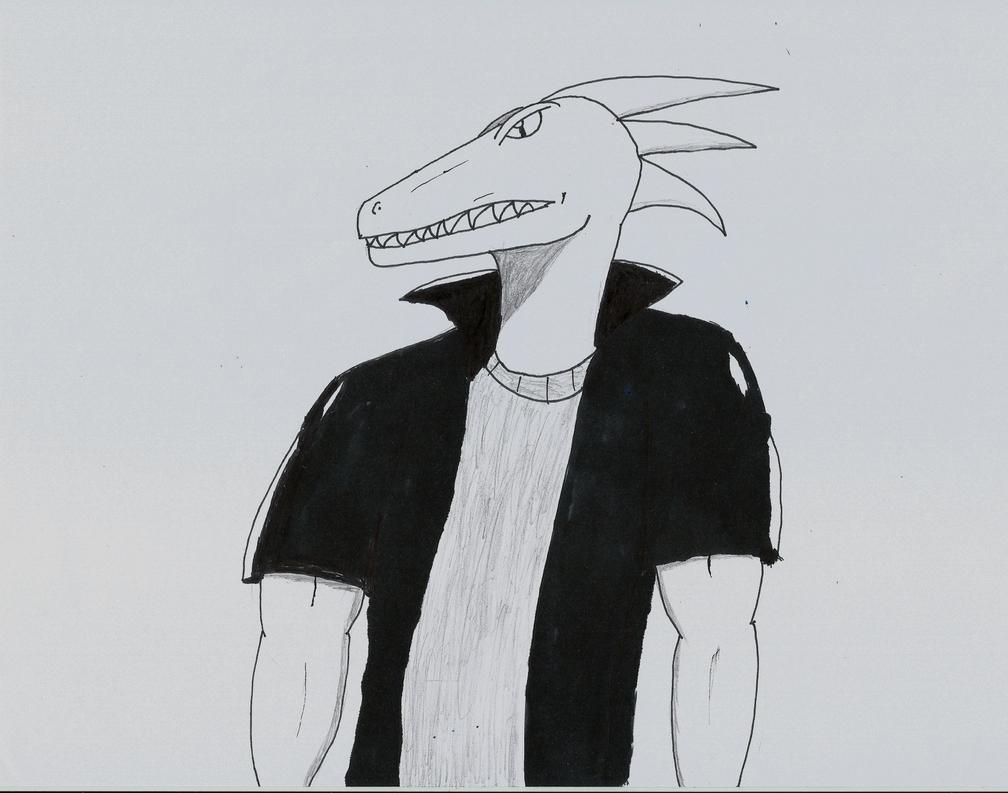 Rex.....thing by MafiaRaptor12
