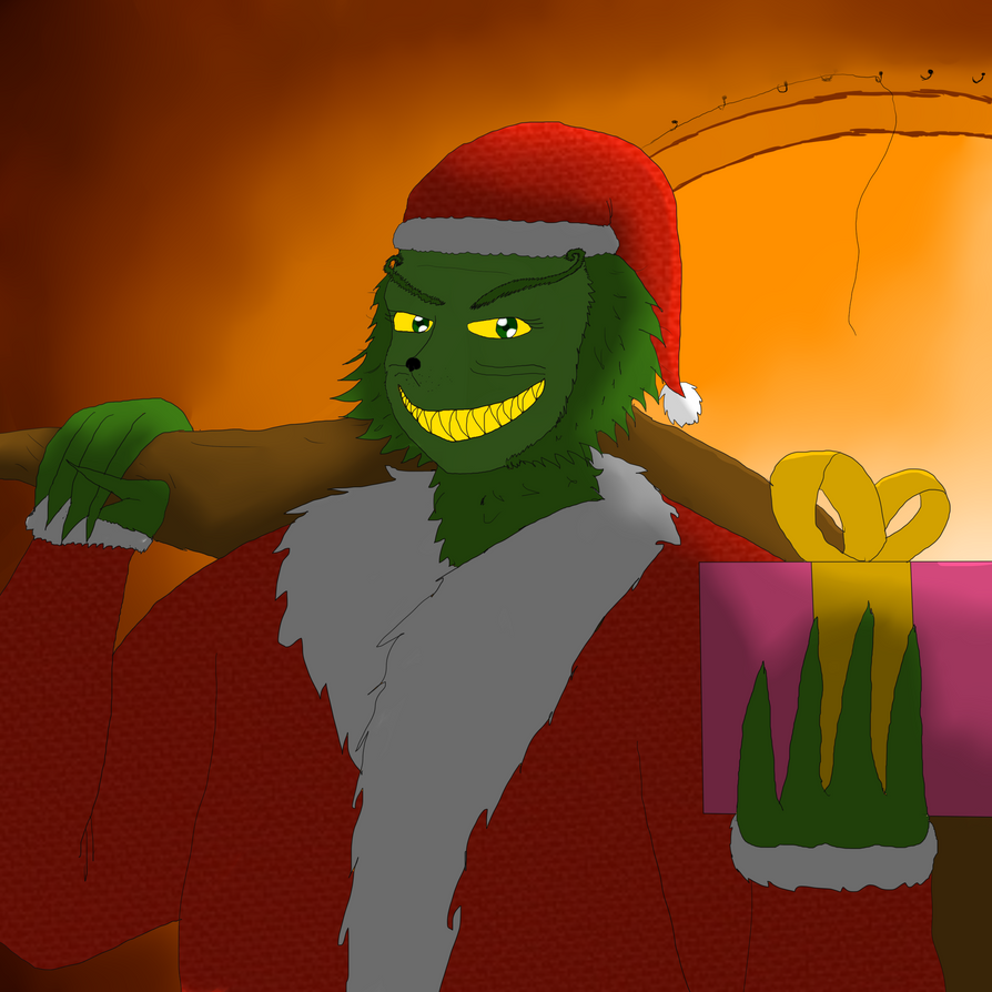 You're a Mean one, Mr. Grinch by MafiaRaptor12