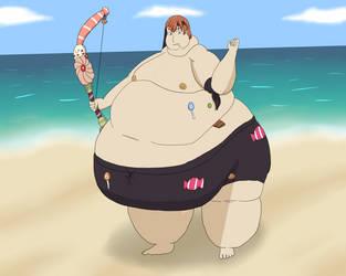 Too damn fat and hot by MafiaRaptor12