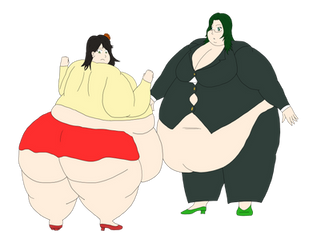CM: Big Kuroi and Joy by MafiaRaptor12