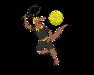 Star's Tennis Jam: Rex by MafiaRaptor12