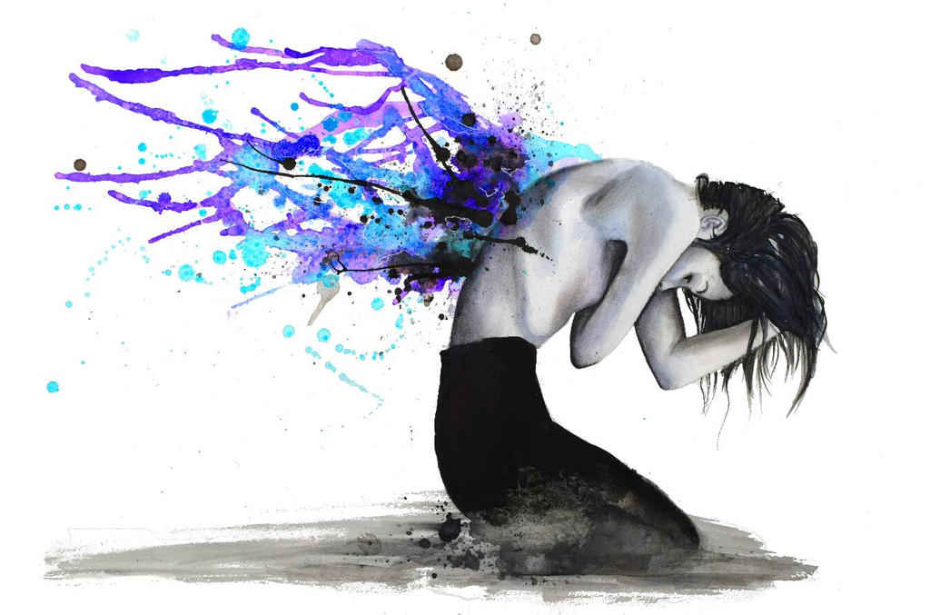 Fallen Angel by VictoriaOlt
