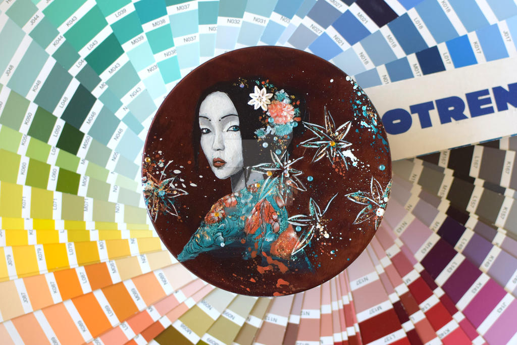 Geisha I by VictoriaOlt