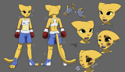 Fighter Katia reference by deathZera