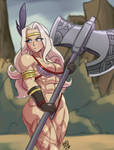 Amazon - Dragons Crown by deathZera