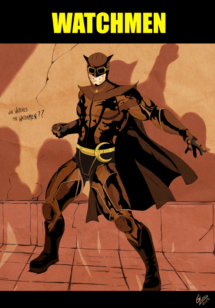 Who Watches The Watchmen by S0Hei