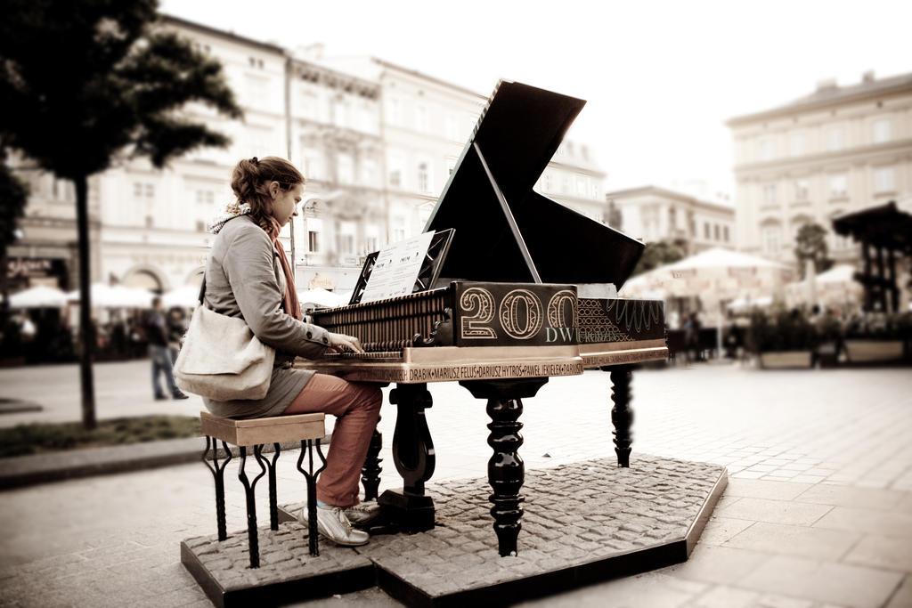 Street pianist by Boria666