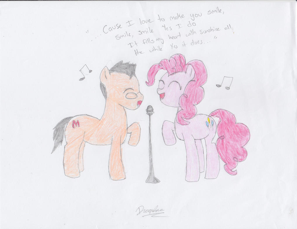 Smile Duet by DragonRose08