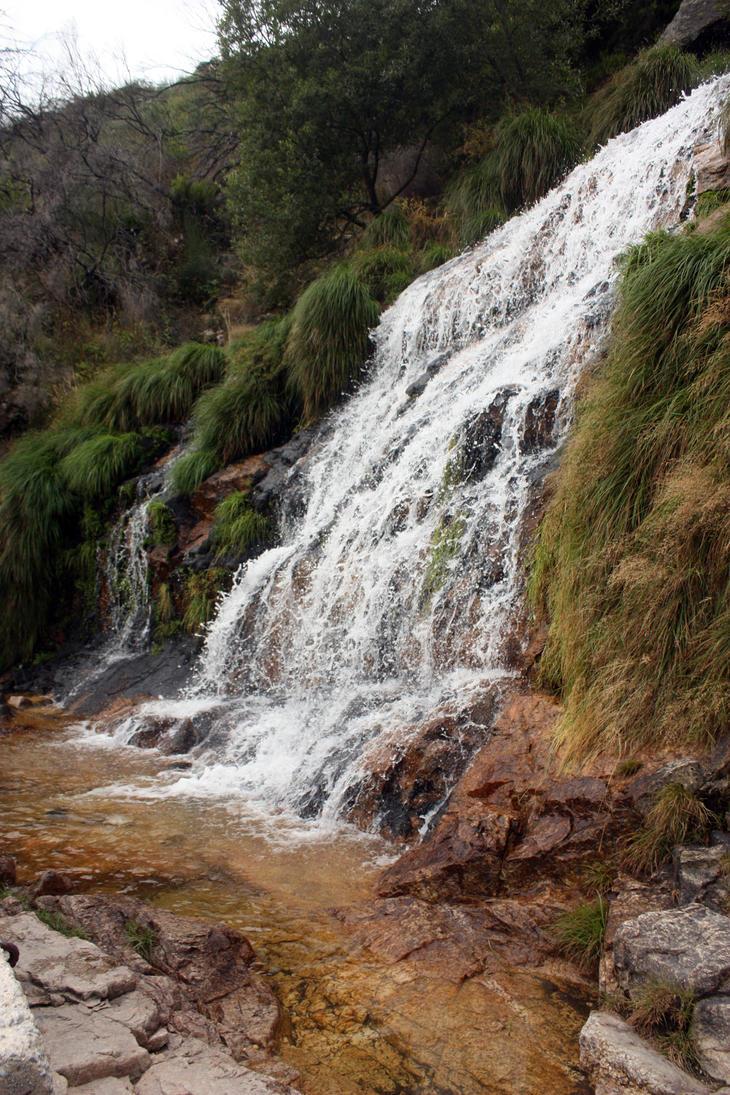 Waterfall 6 by huginswarrior