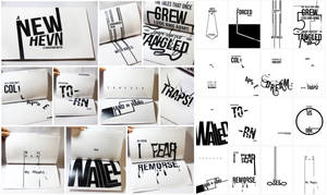 a new hevn: typography