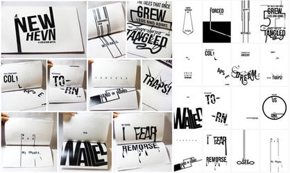 a new hevn: typography by Lokiev