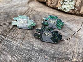 Cats in the Night - Enamel Pin!