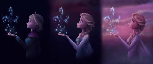 The Snow Queen ~Frozen Elsa Fanart~