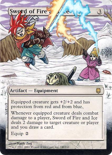 Sword of Fire and Ice: Chrono Trigger by 00-PavoRandom-00