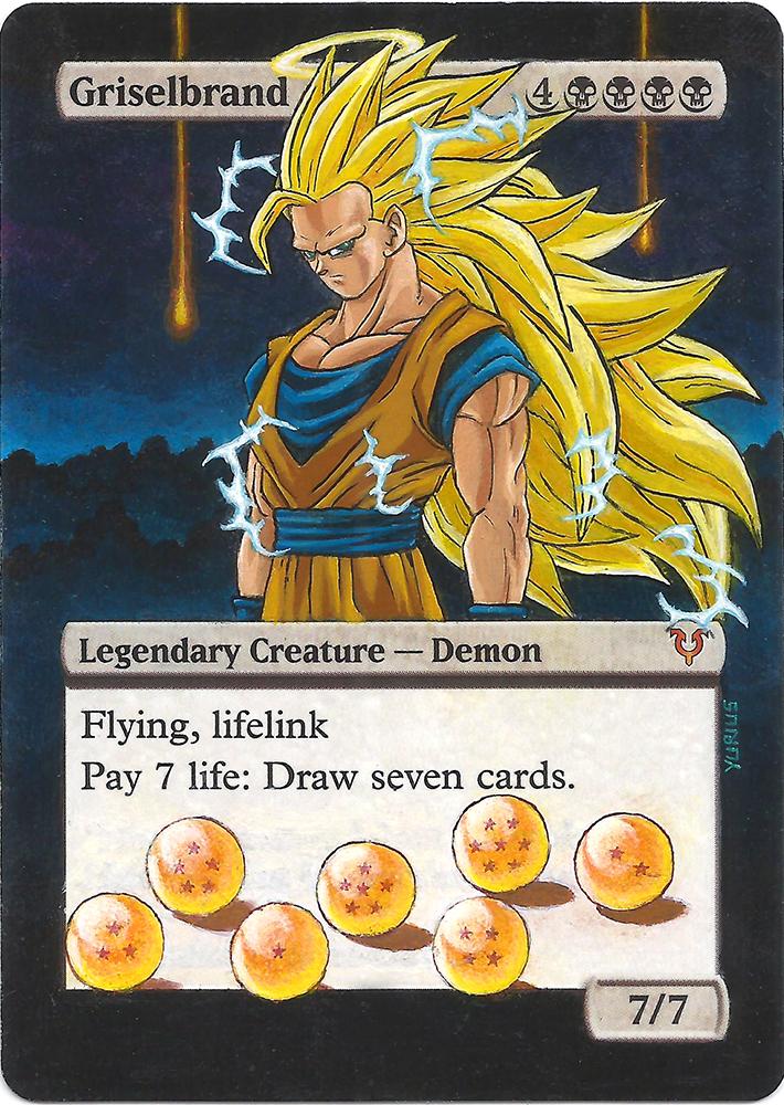 Griselbrand: Son Goku by 00-PavoRandom-00