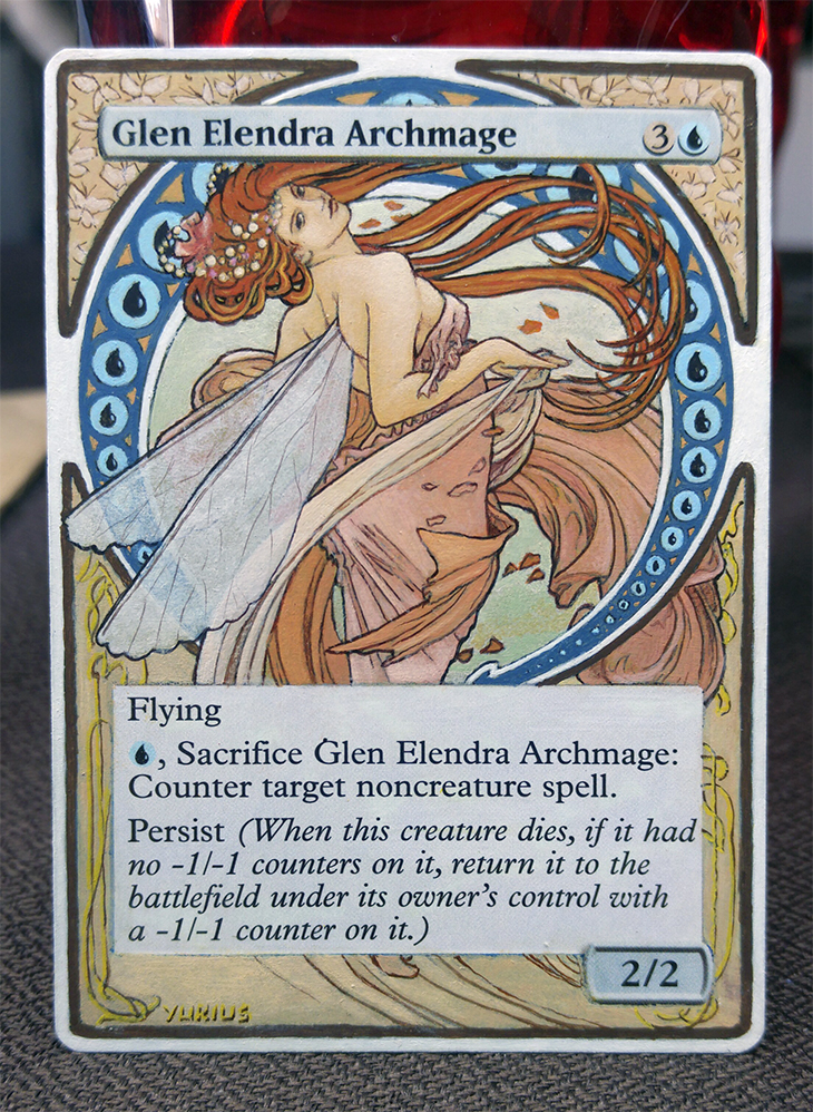 Glen Elendra Archmage: Art Nouveau by 00-PavoRandom-00