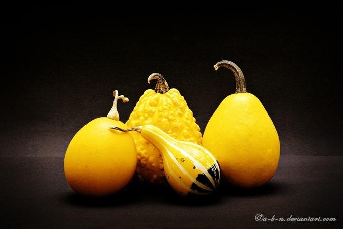 yellow still by a-b-n