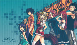 the Fairy Tail gang