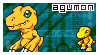Agumon Stamp by Squids-Stamps