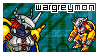 WarGreymon Stamp by Squids-Stamps