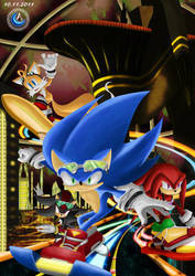 Sonic Riders by deedelito16