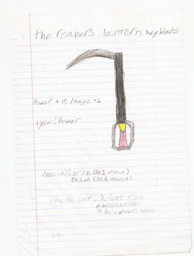 reapers lantern keyblade