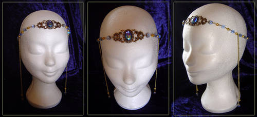Crown Diadem 'Myrddin' by Amelyse