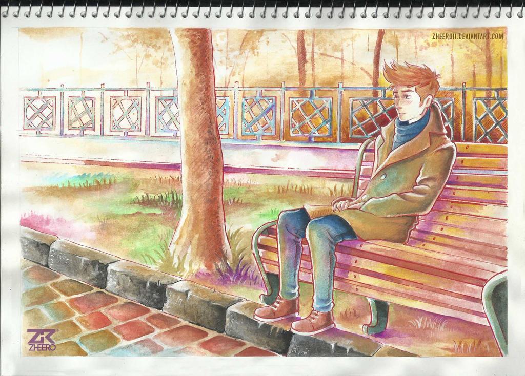 Sonata in autumn by ZheeroII