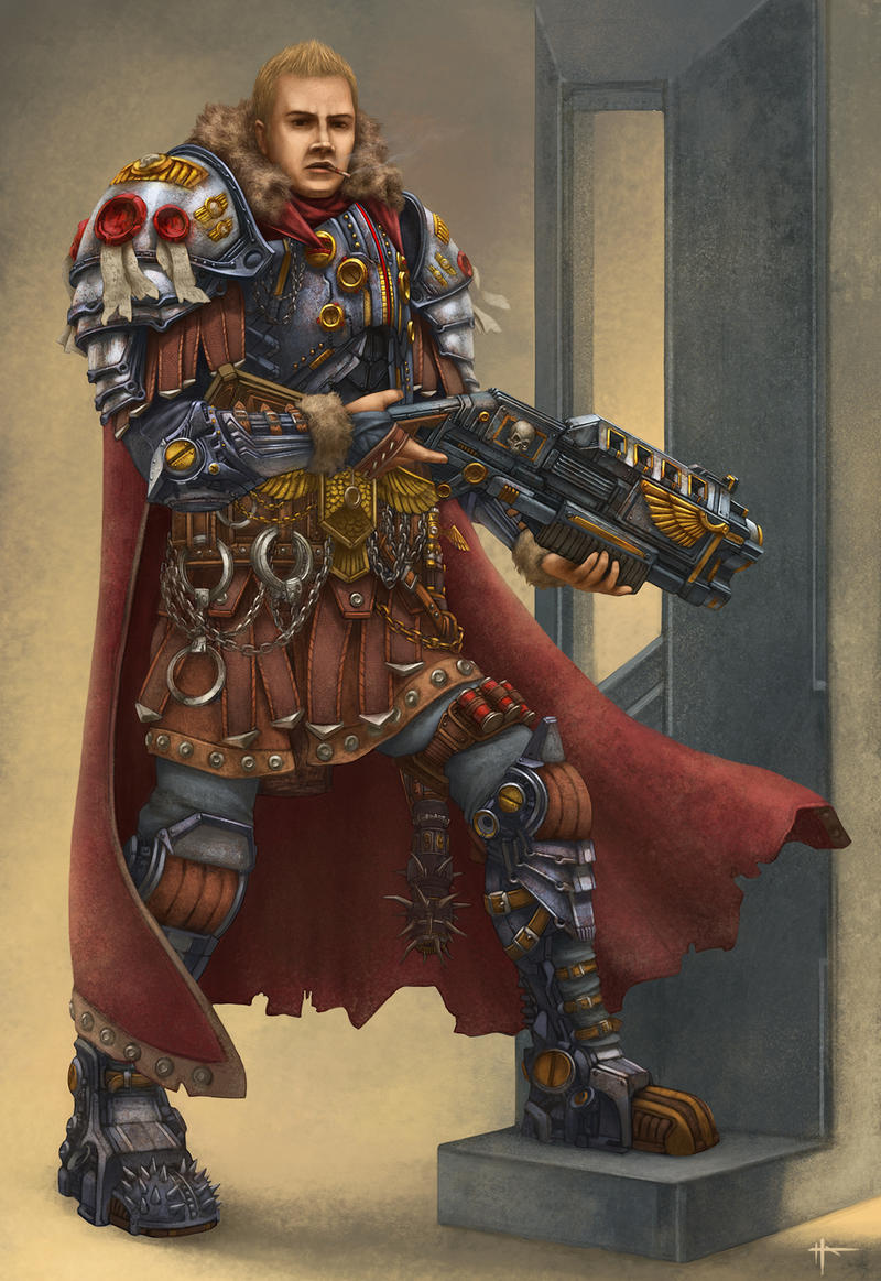 [W40K] Collection d'images : Inquisition/Chevaliers Gris/Sœurs de Bataille - Page 4 Jaxx_rommulous_by_nikolayasparuhov-d72zq2o
