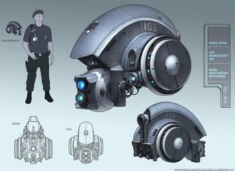 Hound drone concept