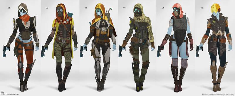 Bounty hunter variations