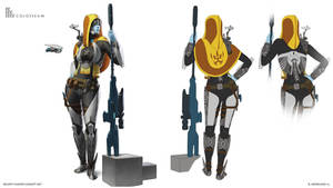 Bounty hunter concept art