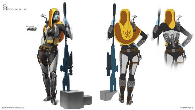 Bounty hunter concept art