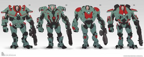 Crusher concepts by NikolayAsparuhov