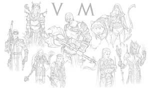 Critical role vox machina sketches