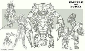 EmpireOfDoors_sketches by NikolayAsparuhov