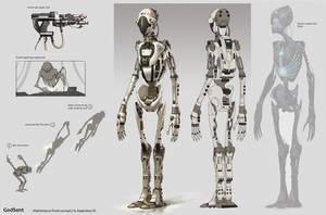Maintenance droid concept