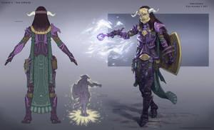Sorceress Tal Rasha's Armor Set Concept