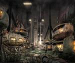 Dystopian Undercity - Living District